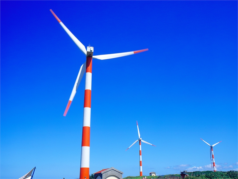 Shihmen wind power Photo2