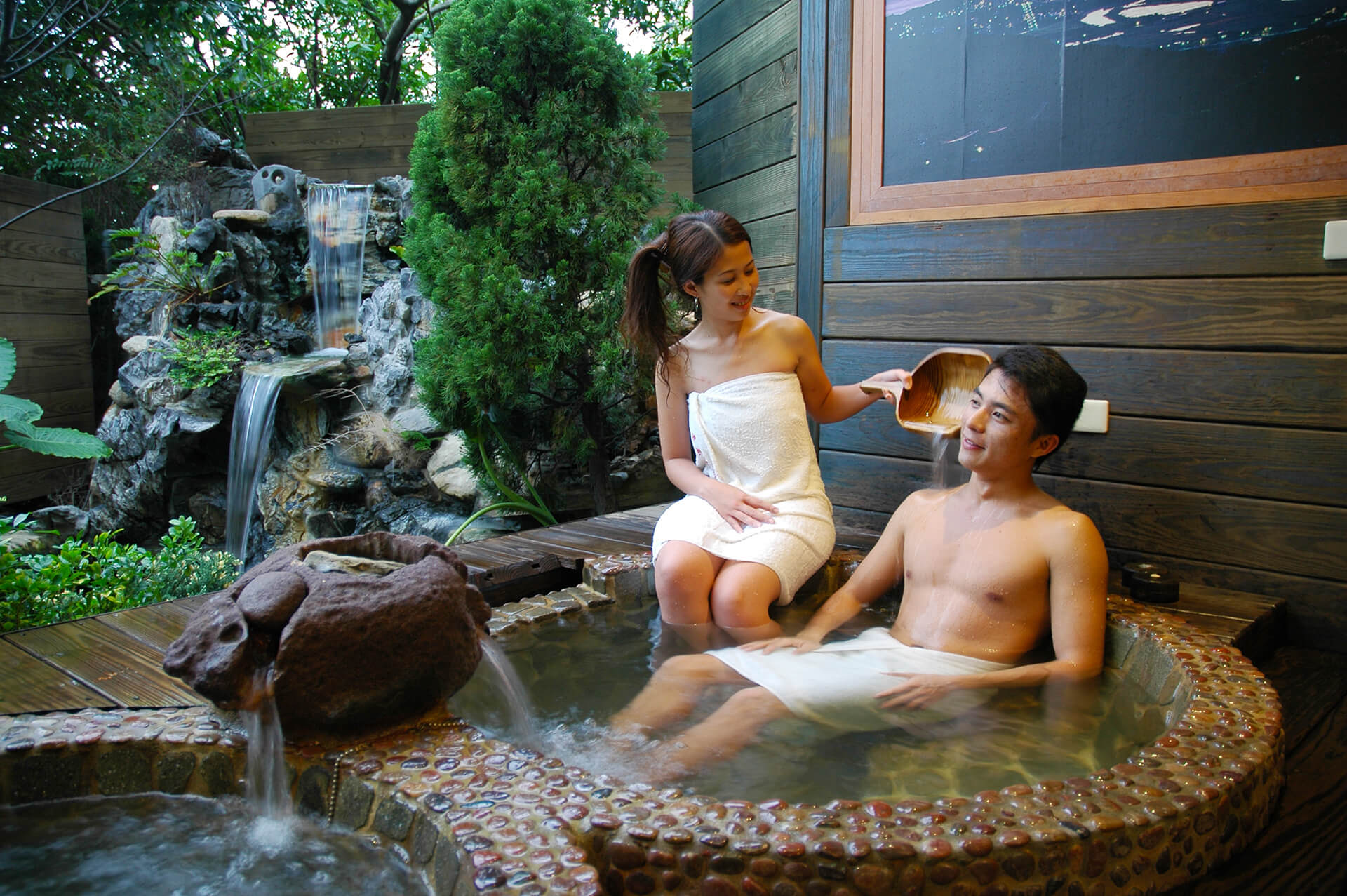 Jinshan & Wanli Hot Springs