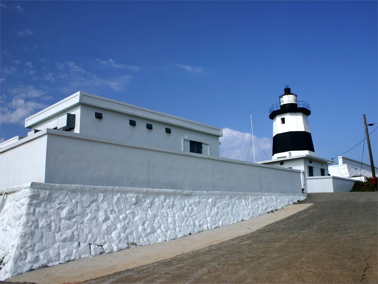 Fugui Cape Lighthouse Side